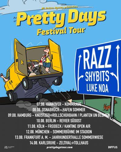 Pretty Days Festival Tour