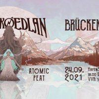 Das Brückenfest - Vol. II: SKRAECKOEDLAN (swe), Atomic Peat, Blood Red Mammoth
